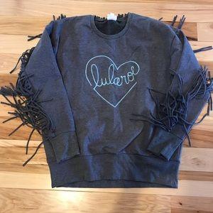 Lularoe Fringe Sweatshirt